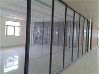 深圳铝合金办公隔墙 铝合金玻璃隔断