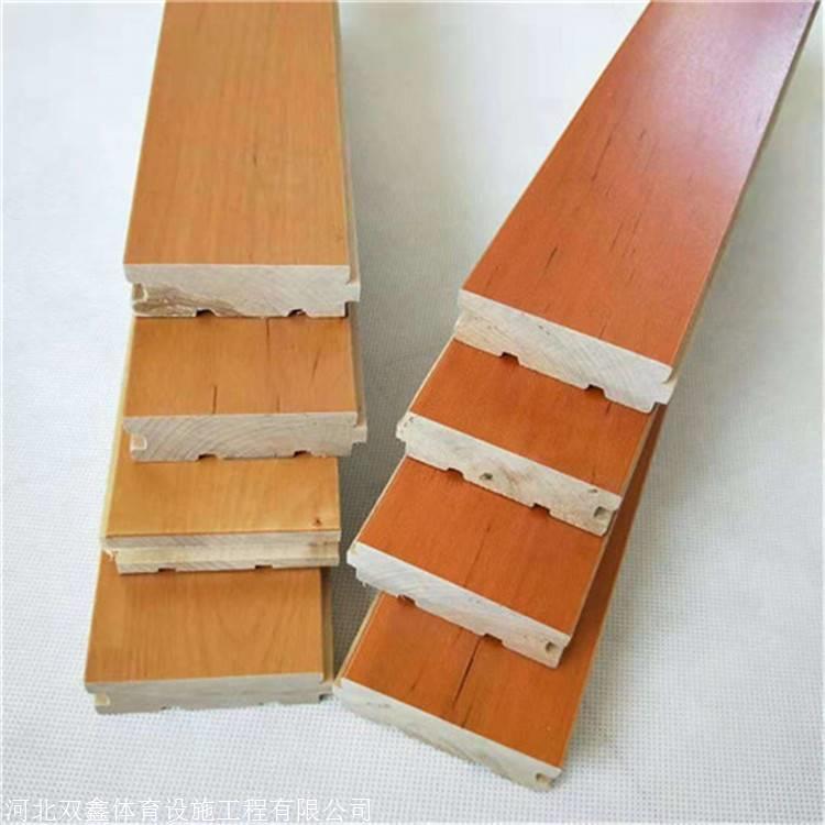 篮球馆专用木地板 安装配件都需要厂家配备