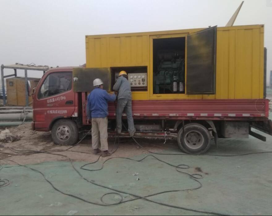 涿州发电机出租 凭良心干事放心租赁