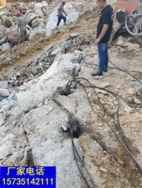 丽水隧道开挖静态破石机器设备