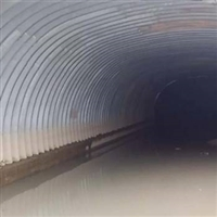 云南钢波纹管涵通道厂家 大跨径钢波纹涵管 拼装镀锌钢波纹管