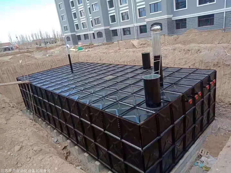 北京現貨批發抗浮地埋消防水池 地埋式箱泵一體化品牌