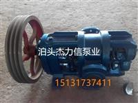 泊头杰力信LC18-0.6罗茨油泵流量大功率小