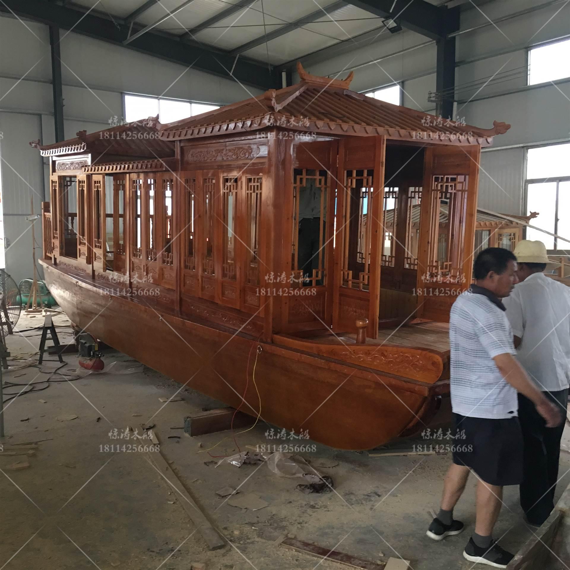 北京画舫船 乌篷船厂家 尺寸样式定制