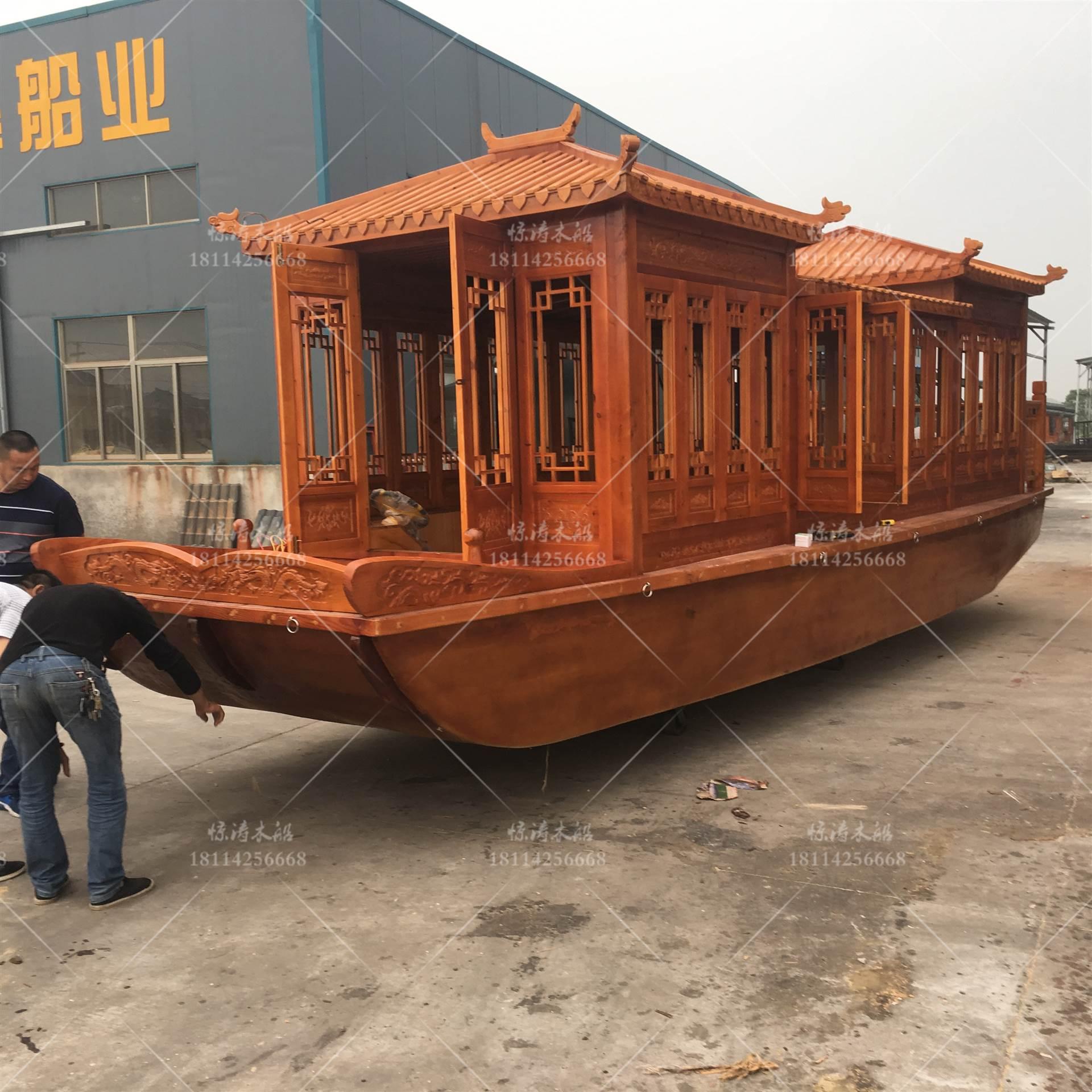 中国画舫船厂家 定制乌篷船