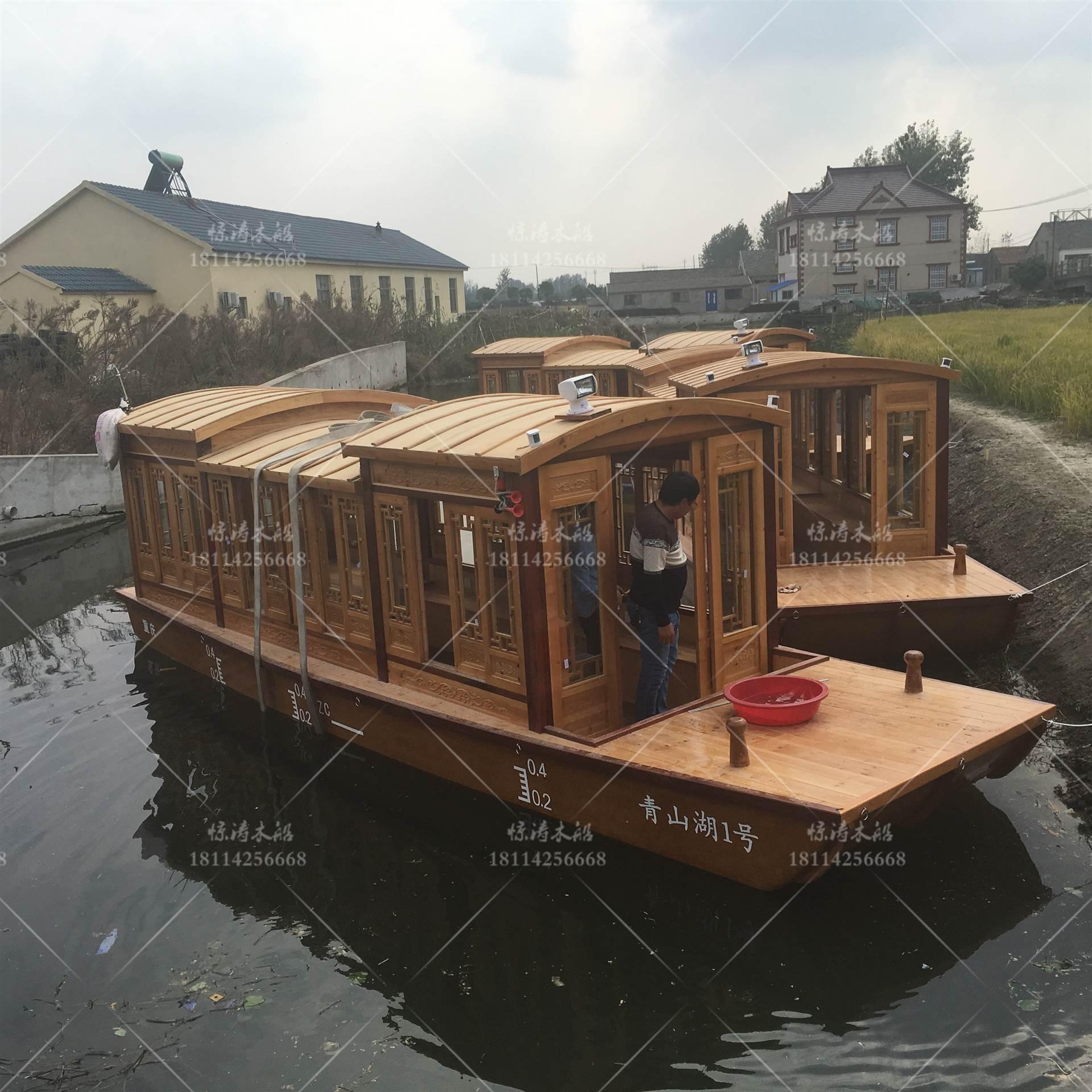 重庆船检画舫船 乌篷船游船 定制船 小渔船二手船