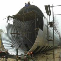 金属波纹管涵厂家 钢波纹涵管价格 涵洞钢波纹管