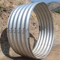 十大钢波纹管生产厂家 公路钢波纹管涵施工 桥隧加固金属波纹板