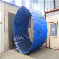 弘祥镀锌钢波纹涵管厂家,优质板材钢波纹管涵,足厚钢波纹管