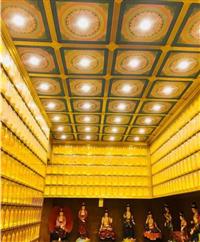 古建禅堂吊顶 大殿天花板装修材料