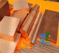 日本进口钨铜厂家 CuW60导电钨铜棒厂家