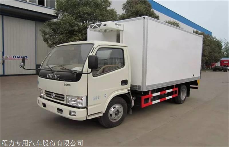 2019款東風多利卡5米1冷藏車價格 6米4冷藏車價格