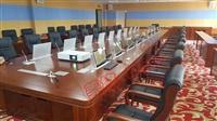 供應石家莊會議室  智能交互式桌面無紙化超薄15.6寸升降器
