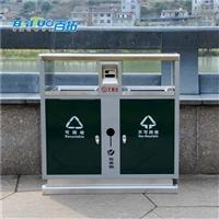 重慶景區墻壁不銹鋼垃圾桶批發商