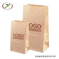 纸类包装制品纸袋 PLA可降解纸袋 环保牛皮纸打包袋生产厂家