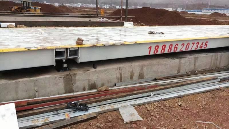 銅仁沿河9米60噸100噸地磅多少錢 銅仁地磅廠家