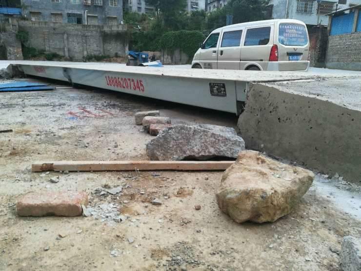 贵州100吨二手地磅价格 高价回收旧地磅