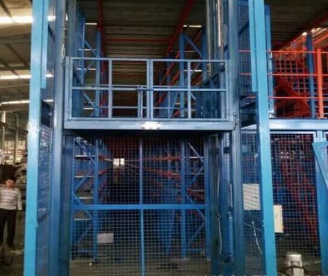 工业工厂超市物流用液压仓库货梯