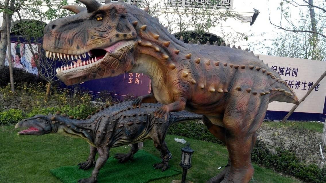 科技行走恐龙出租