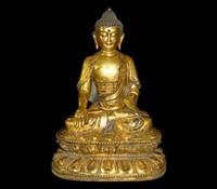 明清金铜佛像图片及拍卖征集点