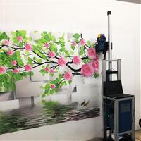 3D墻體彩繪機3D打印機墻面繪畫機UV墻體噴繪機