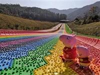 彩虹滑道在哪里可以玩 彩虹滑梯厂家直销