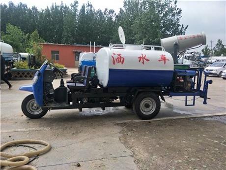 河北三轮洒水车厂家 2立方农用三轮洒水车价格