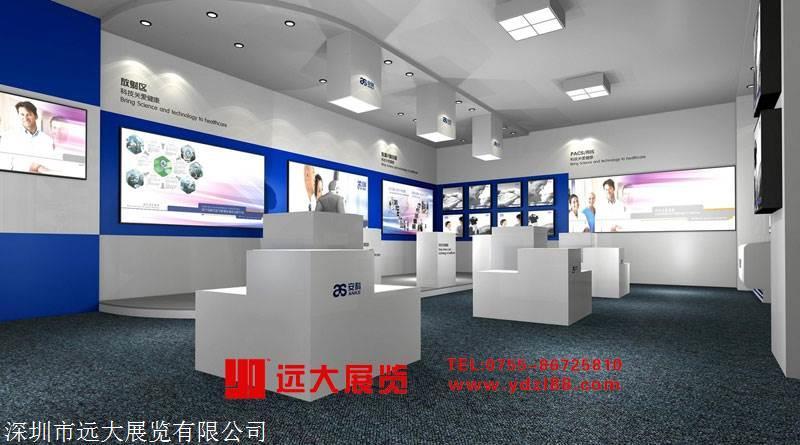 深圳展厅装修公司 远大展览专业自营工厂 展览搭建公司