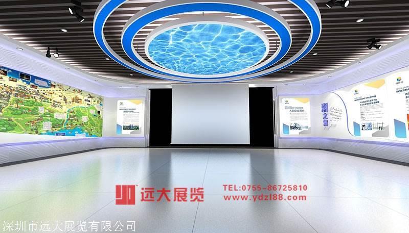 杭州展厅搭建布置装修公司 远大展览更专注企业创意设计
