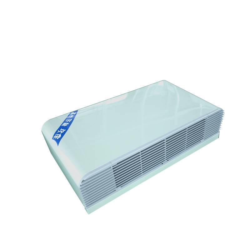 生产平稳 低噪 卧式明装风机盘管 冷暖两用
