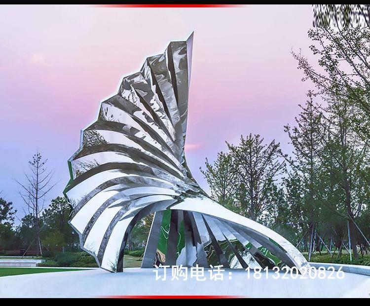 不锈钢项目景观波浪树叶雕塑房地产小区总平图v项目任务书图片