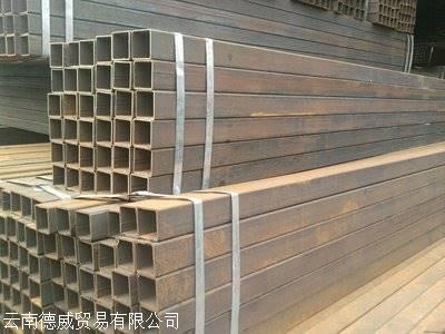 昆明钢方管价格 昆明方管批发价格