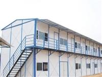集装箱式活动房厂家生产 刘垓子镇彩钢办公楼现场安装