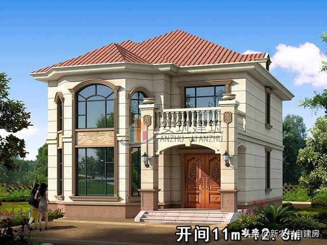 安筑建筑二层别墅图纸