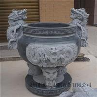 惠安石雕 供应石雕香炉 寺庙 道观石雕香炉 青石石雕香炉现货供应