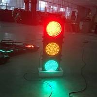 厂家直销铝型材壳直径400mm满屏圆屏交通红绿灯