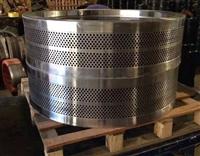 恒美百特木屑顆粒機模具 壓輥 木屑顆粒機維修