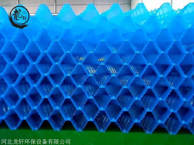 电厂冷却塔填料尺寸 电厂S波填料型号 河北龙轩