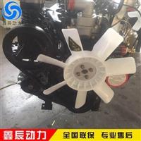 潍坊R4105ZD四缸柴油机 配套潍柴56千瓦开沟机木屑机专用发动机