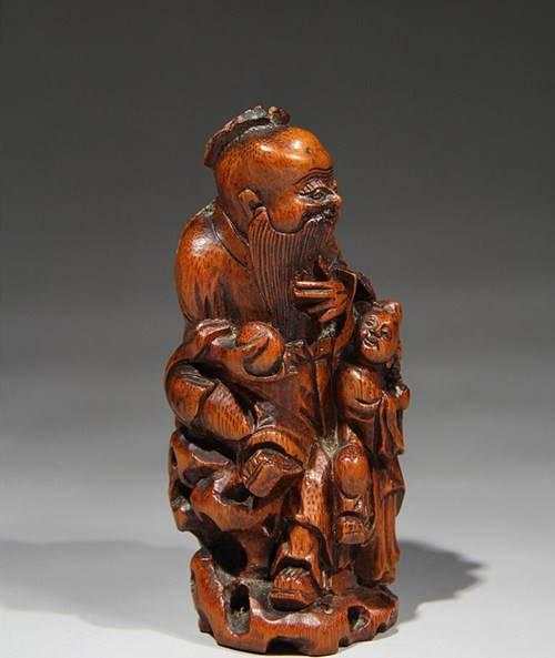 清代竹雕摆件在哪里能私下交易