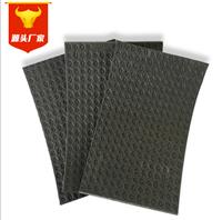 5毫米单面凹发泡橡胶减振垫 电子交联聚乙烯 浮筑楼板保温复合板