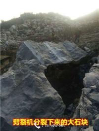 玄武岩建设开采劈裂机  湖南怀化