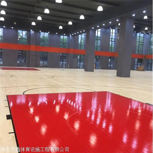 减震运动木地板 在篮球场使用非常广泛