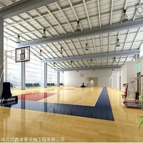 在铺设室内篮球馆木地板 要具有抗压性强的特点