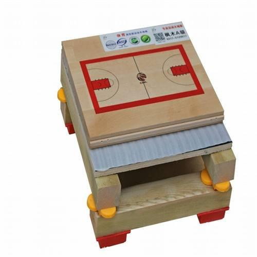 篮球体育运动木地板 在安装选择时需要慎重选择