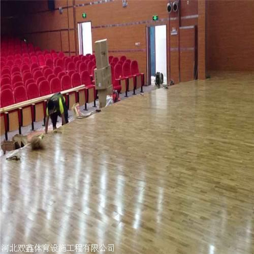 做篮球培训要 安装专业的体育运动木地板