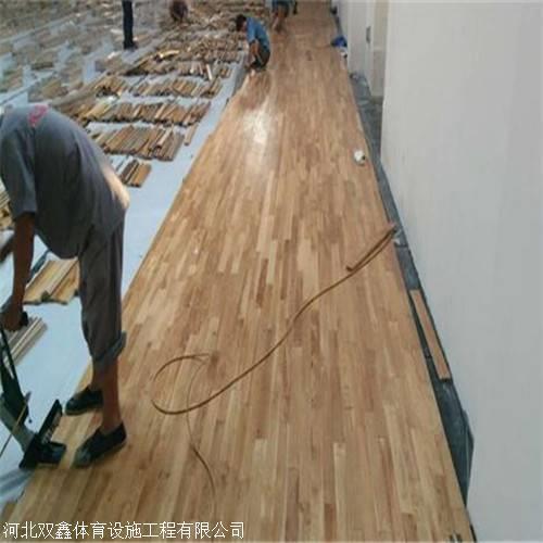 学校篮球场运动木地板 为什么要安装单龙骨结构