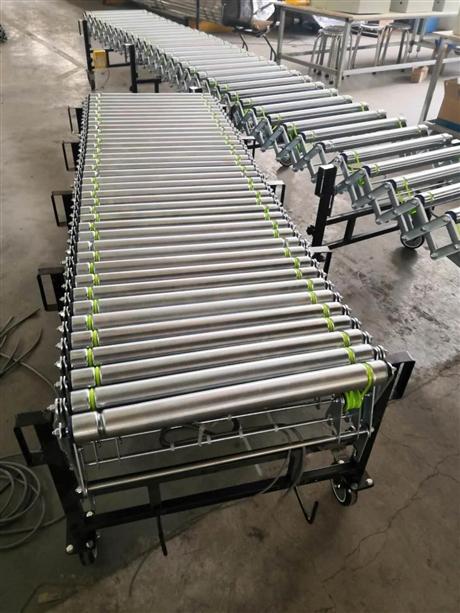 厂家直销涂装生产线滚筒输送机 无动力滚筒输送机 动力输送线低价