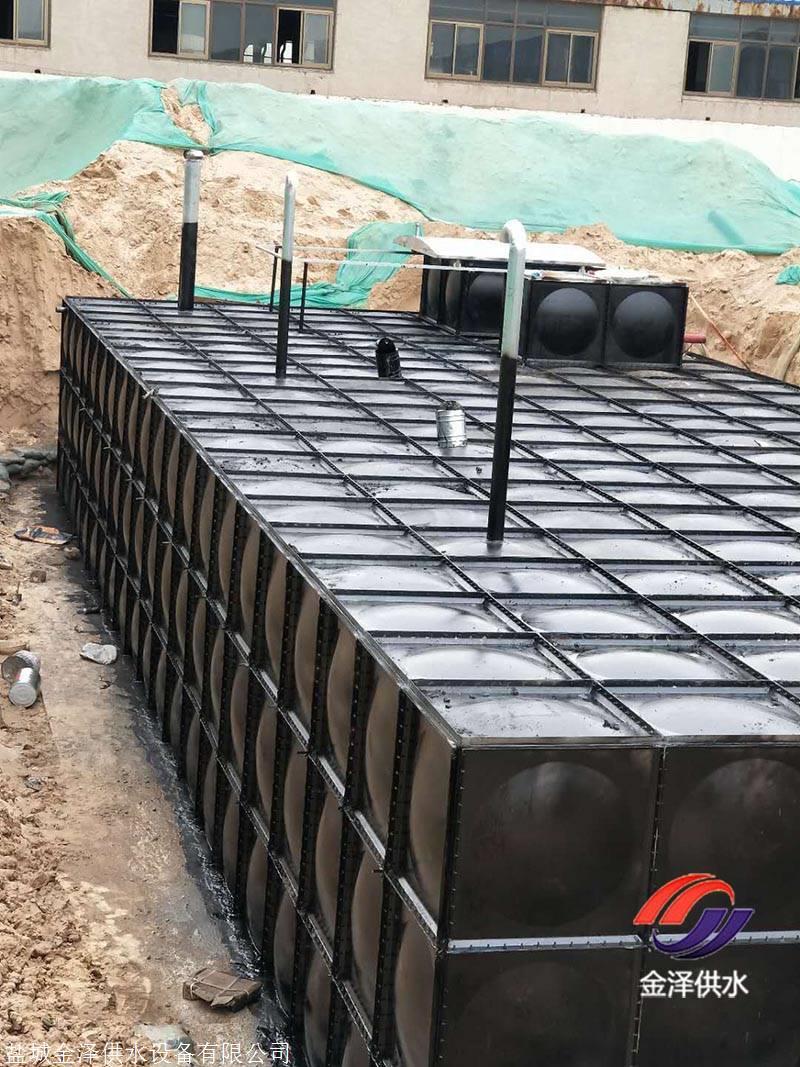 地埋式箱泵一体化消防泵房管路