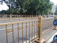 氟碳漆喷涂长安街黄金护栏用于市政交通护栏